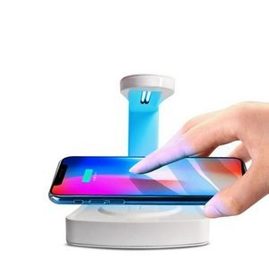 UV Sterilizer Lamp Wireless Charger